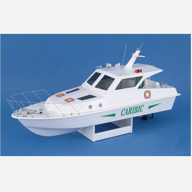 Klick zeigt Details von Bausatz Caribic Motoryacht
