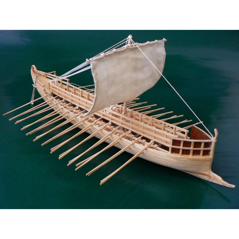 Baukasten Antikes Schiffsmodell Griechische Bireme M 1