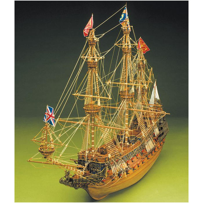 Klick zeigt Details von Bauplan Sovereign of the Seas - M 1:78